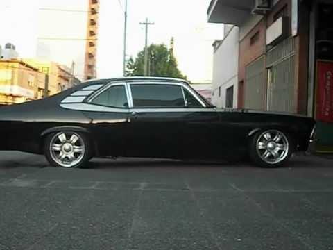 Chevrolet Chevy con suspension neumatica BZstyle