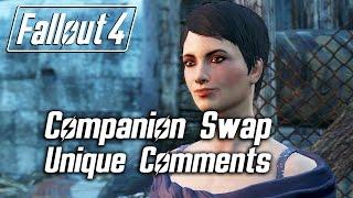 Fallout 4 - Companion Swap Unique Comments (Curie)