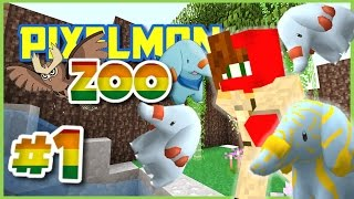 Pixelmon Zoo ► Minecraft Pixelmon 4.0.7 Roleplay Episode 1 ► NEW ZOOKEEPER IN TOWN!