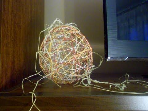 Jak wykonać dekoracyjne jajko z balona