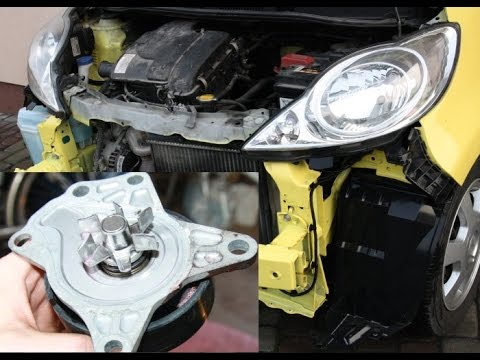How to replace water pump on 1.0 12V - Aygo, Yaris, Peugeot 107, ... C1, Sirion