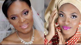 getlinkyoutube.com-How To | Nigerian Wedding Makeup