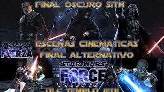 getlinkyoutube.com-Star Wars El Poder De La Fuerza Final Oscuro | DLC Expansion Templo Jedi + Final Alternativo Sith