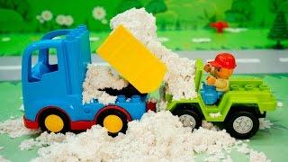 getlinkyoutube.com-Щенячий патруль новые серии 2017 - Завалило песком! Развивающие мультики про машинки Для детей.