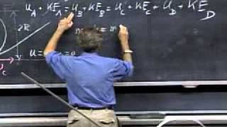 getlinkyoutube.com-Lecture 11  Work   Kinetic Energy   Potential Energy   Conservative Forces   Conservation of Mechanical Energy   Newton's Law of Universal Gravitation