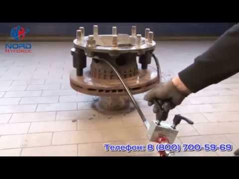Съёмник шлицевых (плавающих) тормозных дисков Volvo и т.п.