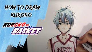getlinkyoutube.com-How to Draw Kuroko - KnB
