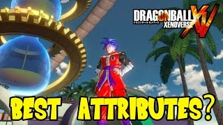 getlinkyoutube.com-Dragon Ball Xenoverse: Best Attribute Stat Distribution (Choose a Speciality)