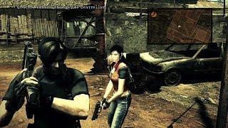 getlinkyoutube.com-Resident Evil 5 Mod - Leon e Claire HD 100%