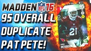 getlinkyoutube.com-95 OVERALL DUPLICATE PAT PETE! THIS IS BS! - Madden 16 Ultimate Team