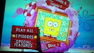 getlinkyoutube.com-Spongebob the complete fourth season DVD main menu