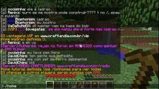 getlinkyoutube.com-01 - Tutorial começando a jogar no server Craftlandia