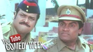Johny Lever as Police Inspector - Comedy Scene, Khatarnak - Comedy Week