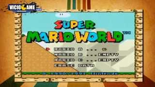 getlinkyoutube.com-Super Mario World com os efeitos sonoros de Sonic the Hedgehog