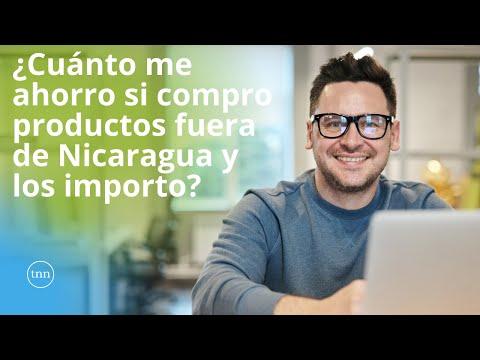 ¿Cuánto me ahorro si compro productos fuera de Nicaragua y los importo?