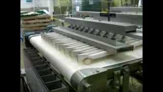 getlinkyoutube.com-Automated Tortilla Pita Bun Roll Bread Divider Rounder Pump/Mover Chunker - Ayash Engineering