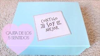 getlinkyoutube.com-IDEA DE REGALO: CAJITA DE LOS 5 SENTIDOS | Rebeca Terán