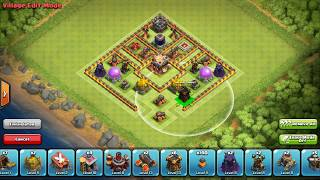 Clash of clans - Town Hall 10 (TH10) Best Farming Base/Hybrid Base Ever 2016