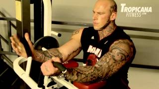 getlinkyoutube.com-Arms Workout with Undisputed IV:Boyka. Bad Guy  Martyn Ford