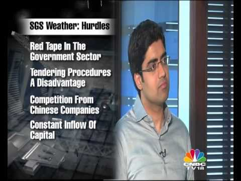 SGS Weather and Environmental Systems, Vipin Gandhi on Emerging India CNBC TV 18
