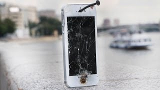 getlinkyoutube.com-Crash Test iPhone 5s / Убиваем iPhone 5s