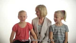 getlinkyoutube.com-Young Sisters Born Deaf Describe Cochlear Implant Activation, Hearing for the First Time