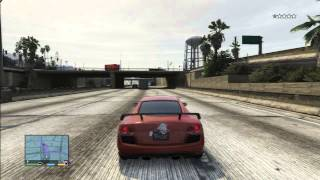 getlinkyoutube.com-GTA 5 AUDI R8 RACE CAR FUN VS POLICE SPEED LIMIT