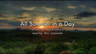getlinkyoutube.com-All Summer in a Day Audiobook Read Aloud