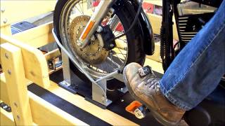 getlinkyoutube.com-POWER FOLDING MOTORCYCLE TRAILER