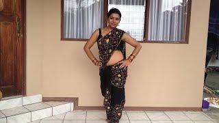getlinkyoutube.com-how to drape a saree, the dhoti way