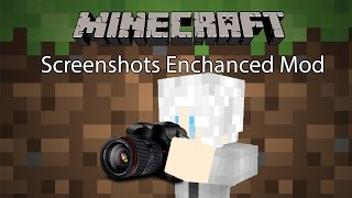 getlinkyoutube.com-Minecraft Mod รีวิว - Mod ถ่ายรูป | Screenshots Enchanced Mod