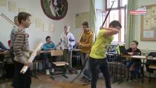 Lelkigyakorlat a Piarista iskolában