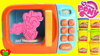 getlinkyoutube.com-My Little Pony Magical Microwave LEARN Colors with Play Doh Surprises