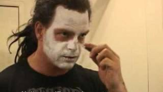 getlinkyoutube.com-Vampiro Putting On Make-Up & Interview