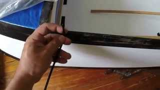 getlinkyoutube.com-DIY Corrugated Plastic Folding Kayak build