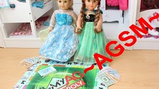 getlinkyoutube.com-Elsa's Boredom solved by a VERY SPECIAL Board Game ~AGSM~ My AG Monopoly ~ HD PLEASE WATCH IN HD~