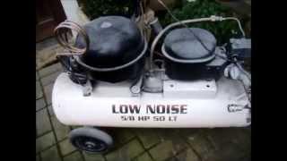 getlinkyoutube.com-Compressor Caseiro com Motor de Geladeira