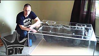 getlinkyoutube.com-HOW TO: Build An Aquarium 6/6