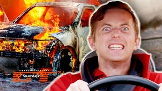 flushyoutube.com-The Try Guys Crash Cars Into Each Other // Presented by The Grand Tour
