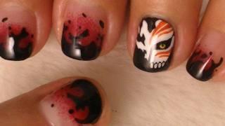 getlinkyoutube.com-Bleach Nail Art
