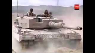 getlinkyoutube.com-El Guardian del Norte: Tanque Leopard 2