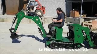 getlinkyoutube.com-Mini Tracto Phoenix 280 - Mouvement