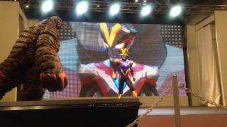 getlinkyoutube.com-ウルトラマンギンガストリウム@東京おもちゃショー2014