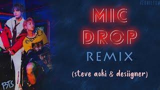 BTS (방탄소년단)   MIC Drop (Steve Aoki Remix) (Feat. Desiigner) [Lyrics Han|Rom|Eng]