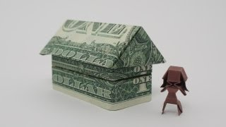 getlinkyoutube.com-Origami 2$ House (Jo Nakashima)