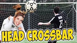 getlinkyoutube.com-CROSSBAR CHALLENGE DI TESTA CON LA MIA RAGAZZA! (Head Crossbar challenge in vr)