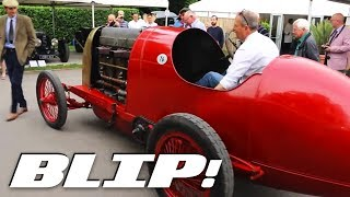 Watch This Flame-Spitting 28.5-Liter Fiat Race And Be Afraid - BLIP!