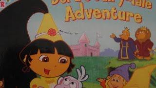 getlinkyoutube.com-Dora The Explorer- Dora's Fairy-Tale Adventure !- Read Aloud Story Books