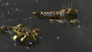 getlinkyoutube.com-Space Engineers - Gravity Miner