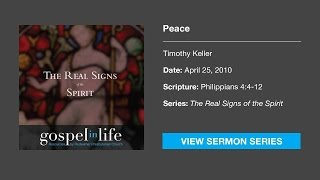 Peace – Timothy Keller [Sermon]